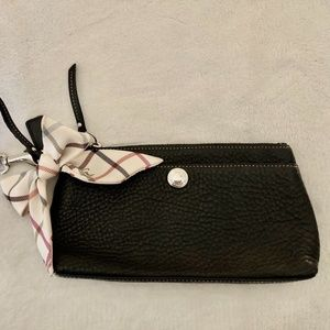 Black Coach Clutch
